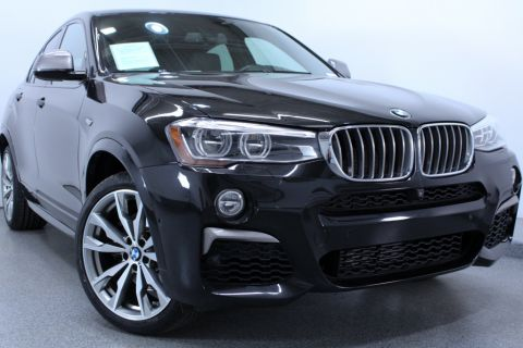 Certified Pre-Owned 2017 BMW X4 M40i AWD Sport Utility